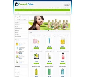 Cosmetic Store Template 2
