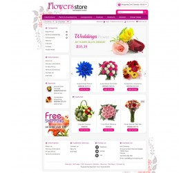 Flower Store Template 3
