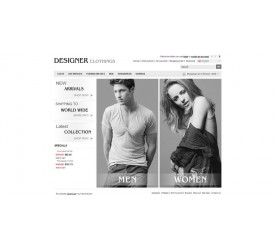 Clothes Store Template 2