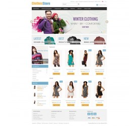 Clothes Store  Template 4