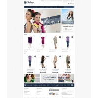 Clothes Store  Template 6