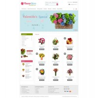 Flower Store Template 2