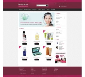 Beauty Store Template 1