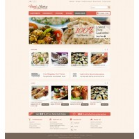 Food Store Template 4