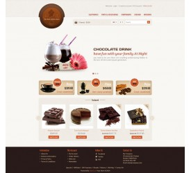 Chocolate Store Template 2