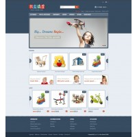 Childrens Store Template 4