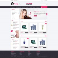 Beauty Store Template 2