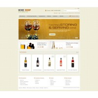 Wine Store Template 1