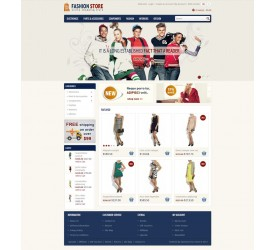 Fashion Store Template 4