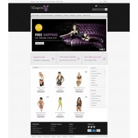 Lingerie Store Template 2