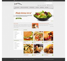 Food Store Template 3
