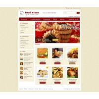 Food Store Template 2