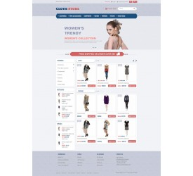 Clothes Store Template 1