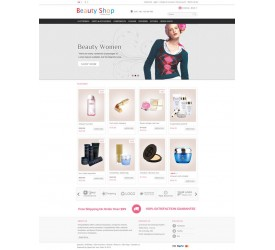 Beauty Shop Template