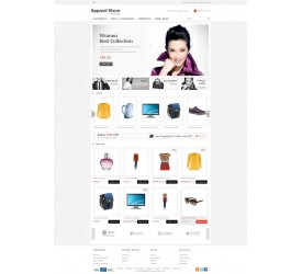 Apparel Store  Template 2