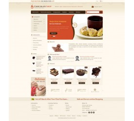 Chocolate Store Template 1